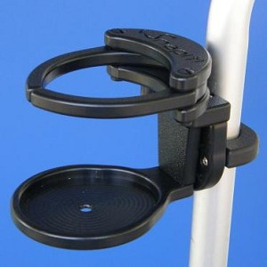SnapIt Adjustable Drink Holder with Multi-Mount Bracket